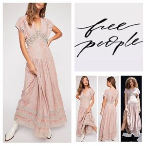 🆕Free People Prairie Flower Maxi Dress.  NWOT.
